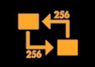 256 bit TLS Datenverbindung