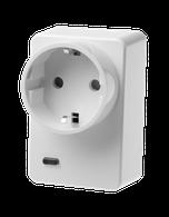 Funksteckdose mit Stromzähler und ZigBee Repeater